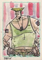 Guile- Street Fighter by SpencerPlatt