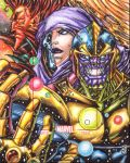 FOR SALE! Marvel 75th anniversary Artist Proof by warpath28