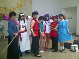The Awesome Ranma Group 20 by Jarrahwhite