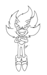 Super Sonic StC BW by adamis