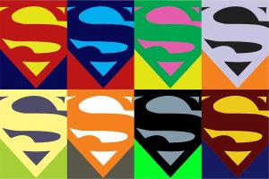Superman Pop Art by samnaman