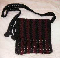 crochet purse by 4gotten1