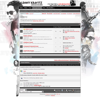 Lenny Kravitz Forum Skin by MetalFrog