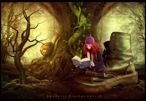 A Magic Place To Study by Doucesse