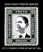 Transparency with Obama? by Conservatoons
