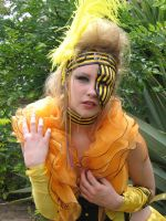 Mardi Gras yellow by Bryony-Rose