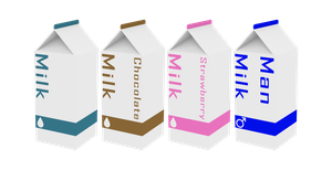 Milk Cartons by V--R