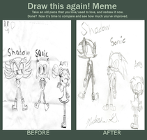 Draw this again meme by cutegal129