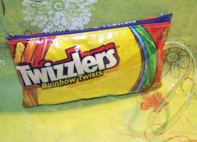 Twizzlers Wrist Pouch by RyuuseiHime