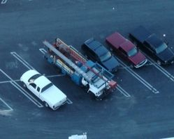 My truck from 450 ft. up by PaladinDova