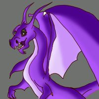 dragon drawing by lindaatje