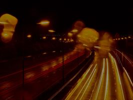 Light Trail Practice by CKPhotos