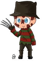 Chibi Freddy by ClearGuitar