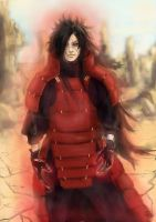 Madara Uchiha by Pajalie
