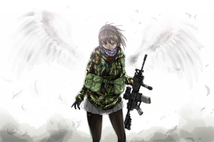 Armed Angel by FourthMay