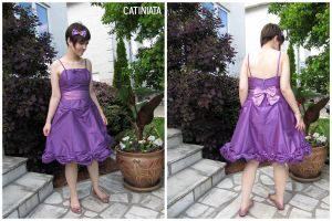 Custom Gala Dress by catiniata