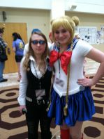 Two Lovely Cosplayers:) by Amphitrite7