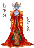 Azshara for Lunar Festival by empire588