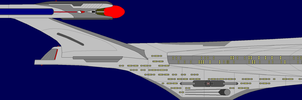 Celestial Class Starship by captshade