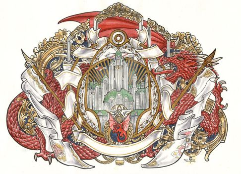 Imperial Capital Emblem by Feivelyn