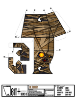 BIT+ Series 3 the Mummy template by IdeatoPaperStudios