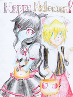 Fanart ~~ Happy Halloween!! by reeno-tsun