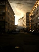 Storm In Cluj by evilslair