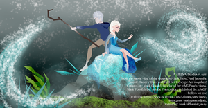 JELSA (Jack Frost and Elsa) by markARThurhighway