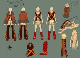 Magnhild reference v.2 by Lord-Evell