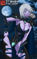 Traxex The Drow Ranger by BayuBaron