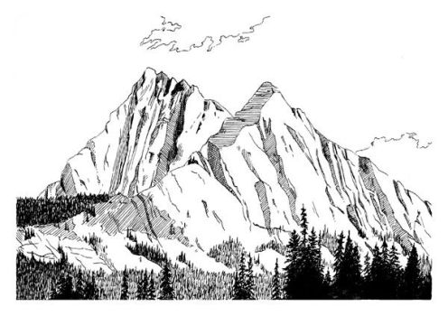 The Mountains by Vineris