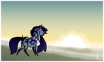 4/5 Comishes - Lord-StarryFace by TheNapier