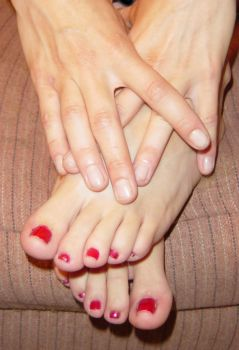 Danielle Hands and Feet by FantasyStock