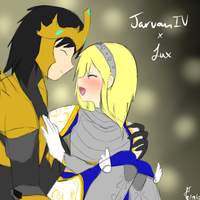 League of Legends: Jarvan x Lux by TheMuteMagician