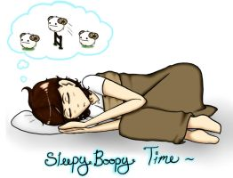 Late Nights Doodles: SleepyBoopy by SuzumeKirei