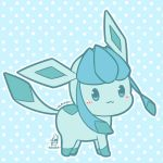 Chibi Glaceon by Kirara-CecilVenes