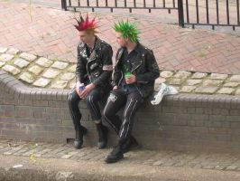 Camden Punks...the original by mrbiggie