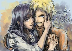 NARUHINA IS CANON by Poki-art