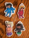 Homestuck Kids - Key Chains DONE by SpottyHiro