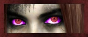 Demon's eyes... by ArienGothica