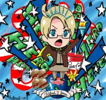 Hetalia Hero Liberty by natersal