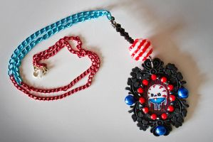 Peppermint Butler Cameo Necklace by falt-photo