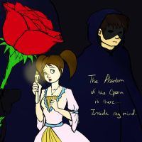 TGWTG He's There, The Phantom of the Opera by jluvswicked