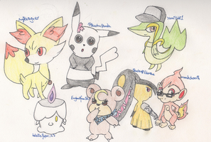 Pokemon - The Roleplay Buddies by SwiftNinja91