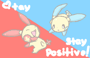 Stay positive by drill-tail