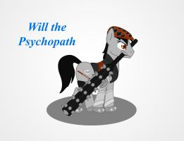 MLP Warrior Psycho Will by Redtriangle