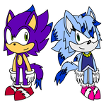[Official Debut] Sonaze Twins: Vulcan and Vesta by SilverBulletDash9000