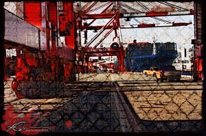 Port Authority Container Yard by ruv