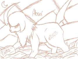 Absol (aWIPmostlikely) by SirMiaow