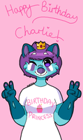 Happy Birthday Princess Charlie. by captainport